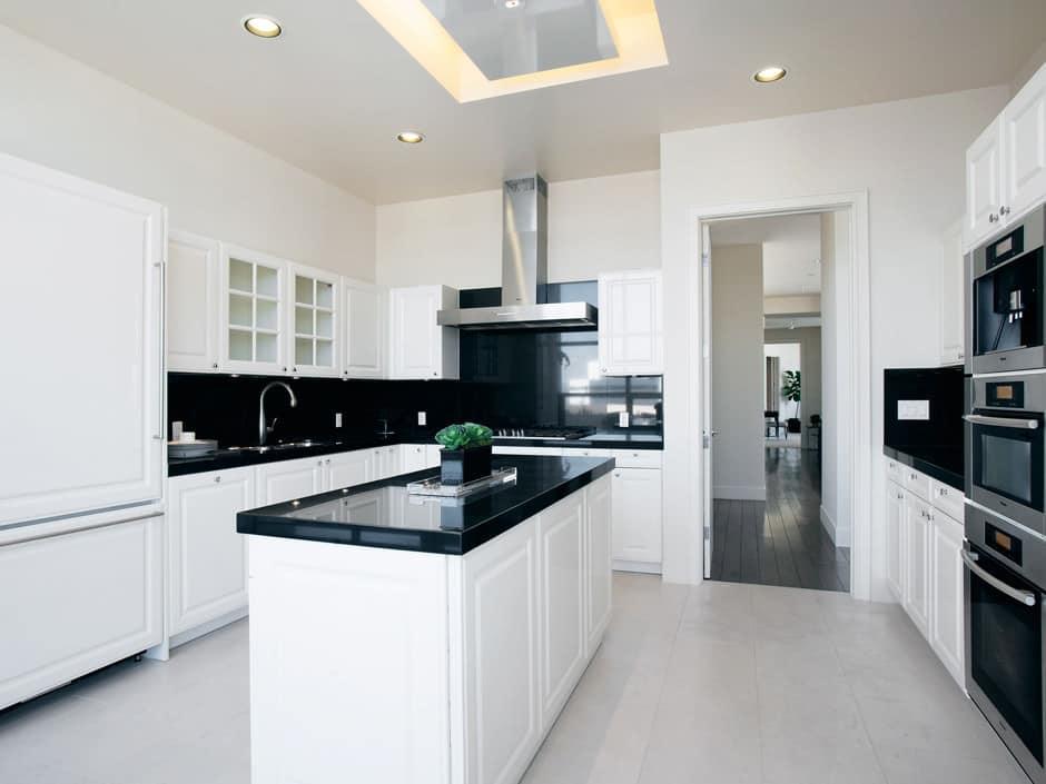 Küche schwarz weiß  schwarz-weiß Küche 2 › Der neue Mann - Männermagazin