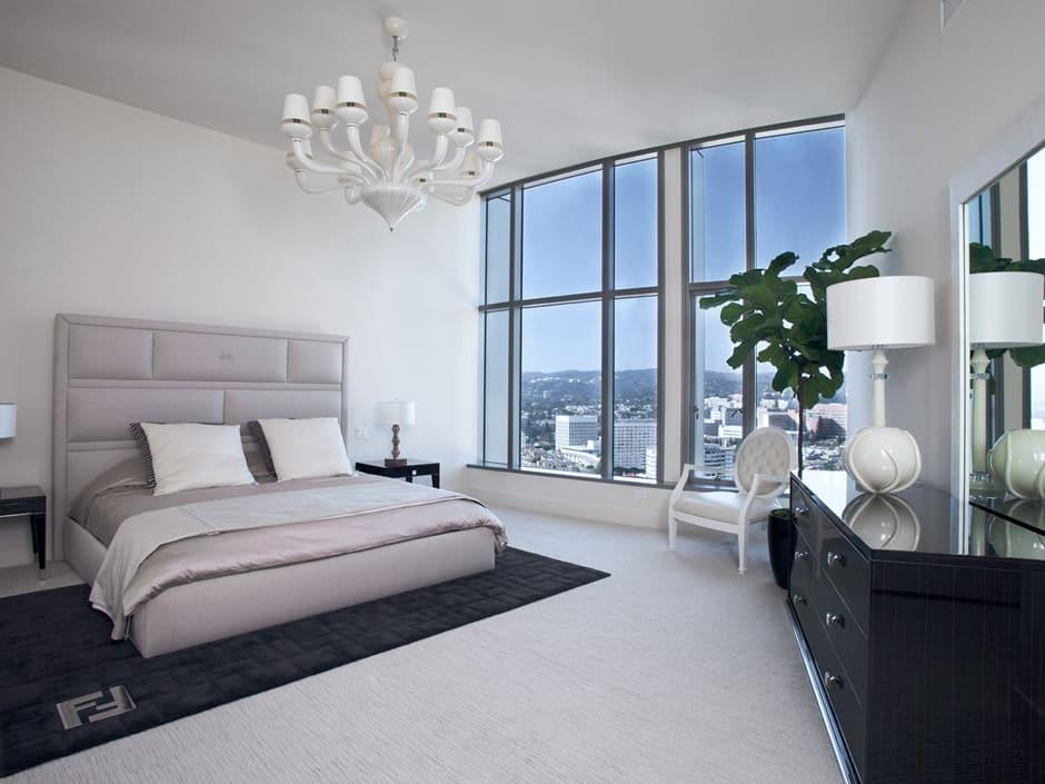 Schwarz-Weiß Schlafzimmer