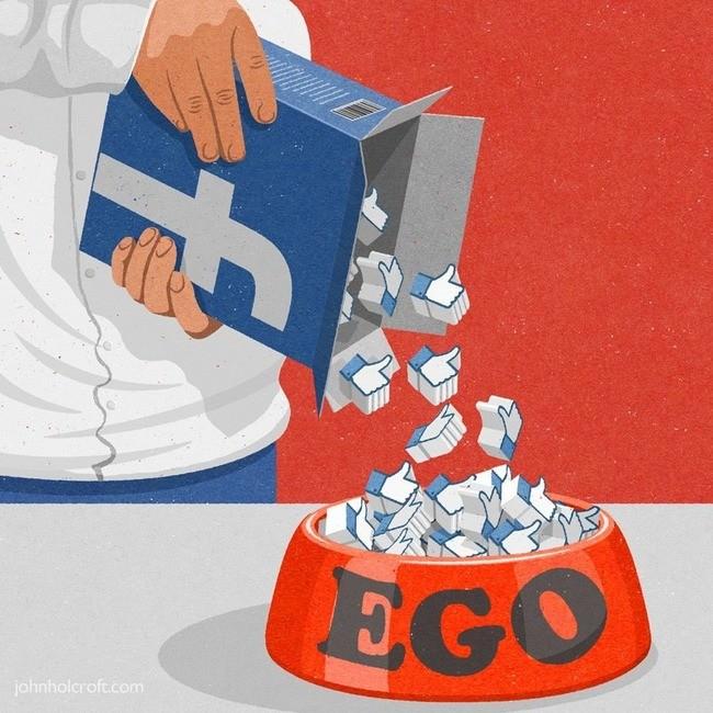 Über Facebook mit Freunden kommunzieren