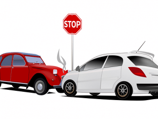 Autounfall Ausland