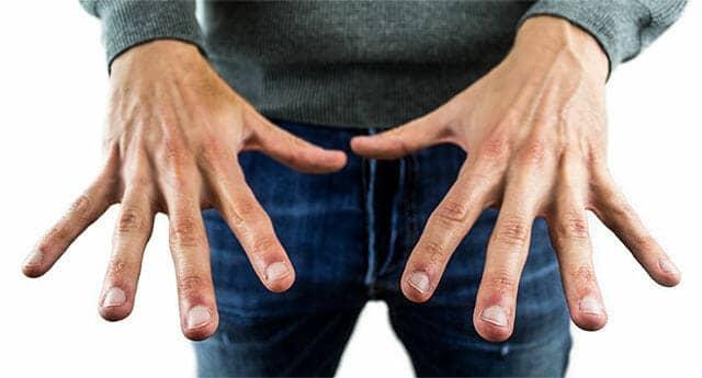 Männerhände