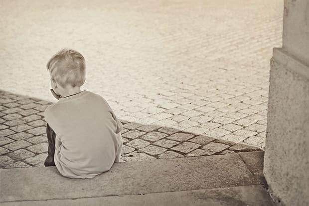 Kind ohne Vater