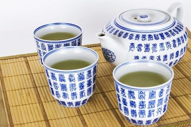 Abnehmen Grüner Tee