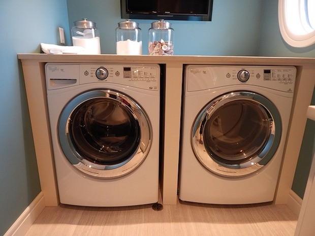 Wandfarbe, waschmaschine