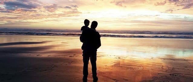 Alleinerziehende-Väter