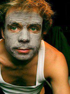 Heilerde Maske