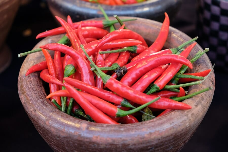Chili als wahrer Fatburner