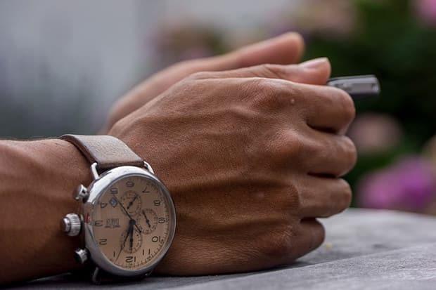 Armbanduhr-Uhr-Männeruhren