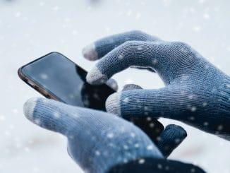 Touchscreen Handschuhe Für den Winter optimal gewappnet