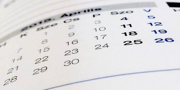 Kalender-Diät