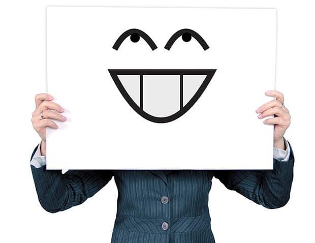 Frau-lachen