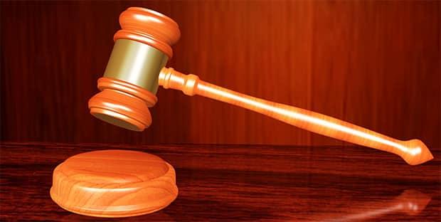 Gericht-Scheidung