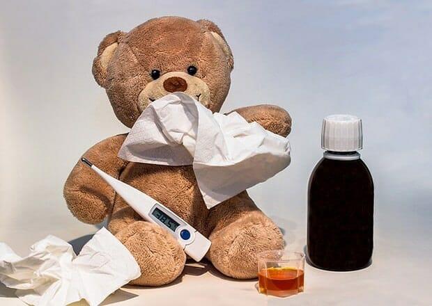 Grippe-Erkältung-Krankheit