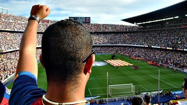 Mann-Sport-Fußball