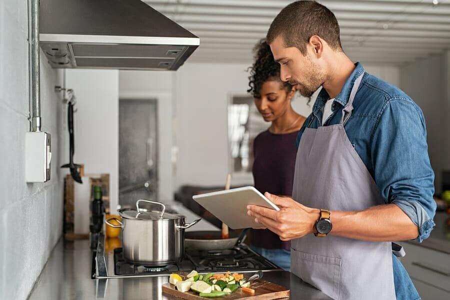 Speisen, Kochen und Haushalt