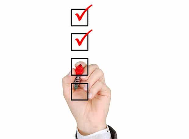 checklist-trennung