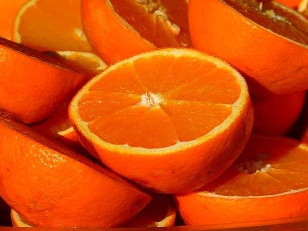orangen, früchte, fructose