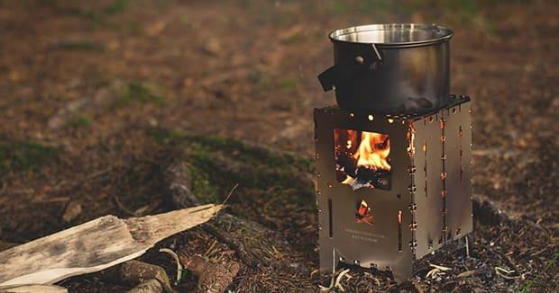 Schnellkochtopf-camping