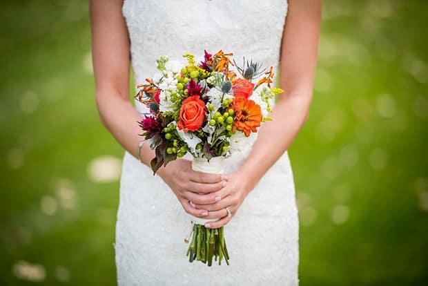 Brautkleid-Hochzeit
