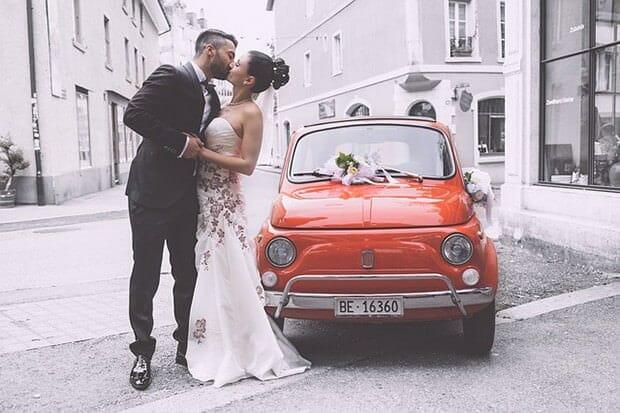 Brautkleid-Mann-Frau