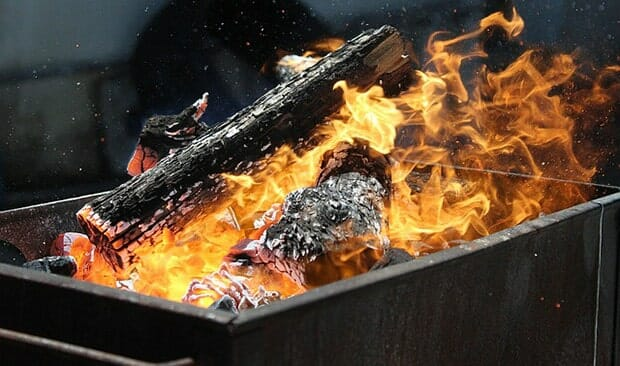 Grill-Feuer