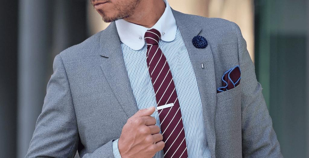 Krawattennadeln-Mann