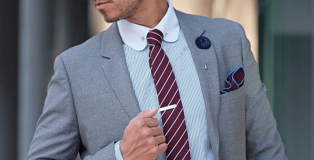 Business Casual mit… Krawattennadel?