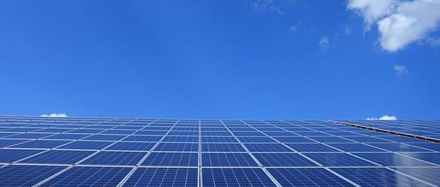 Perowskit-Solarzellen-Sonne