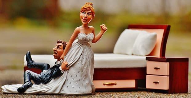 Heiraten-Mann-Frau