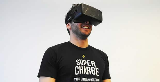 Virtual-Reality-Headset-Mann