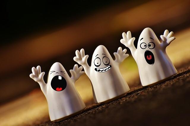 Halloween-Geister
