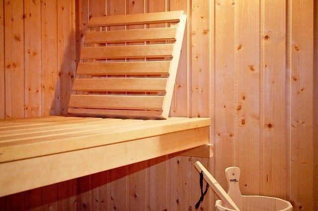Sauna-Liege