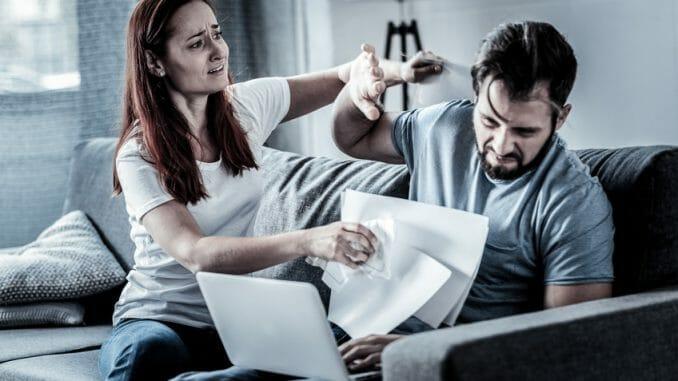 Häusliche Gewalt gegen Männer