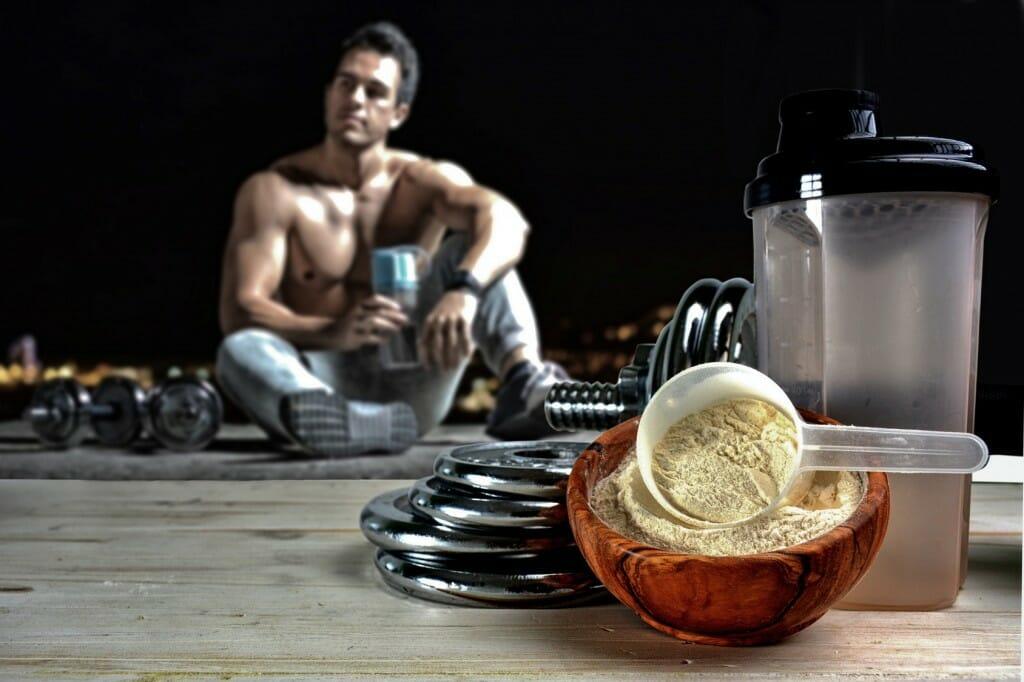 Proteine für einen Muskelaufbau