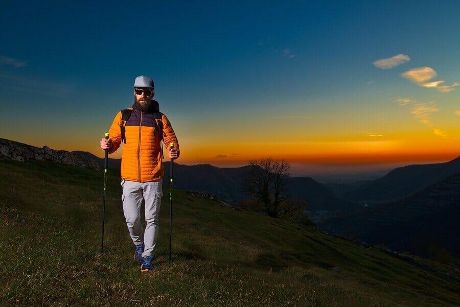 Kleidung als Nordic Walking