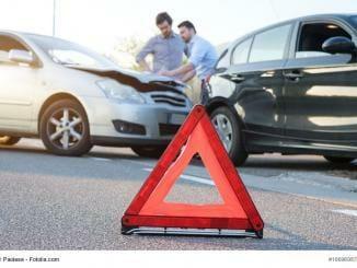 Schadenserhebung nach einem Unfall
