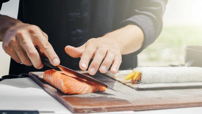 Japanische Küchenmesser