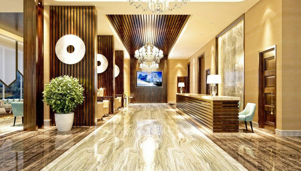 LED Lichtbänder Geschäftsraum