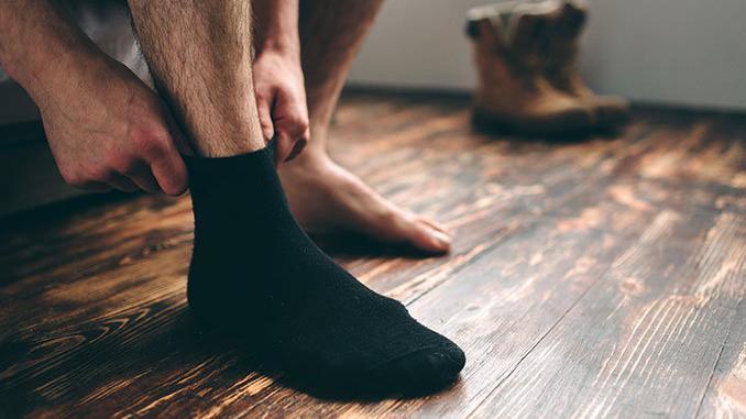 Socken-ohne-Gummi