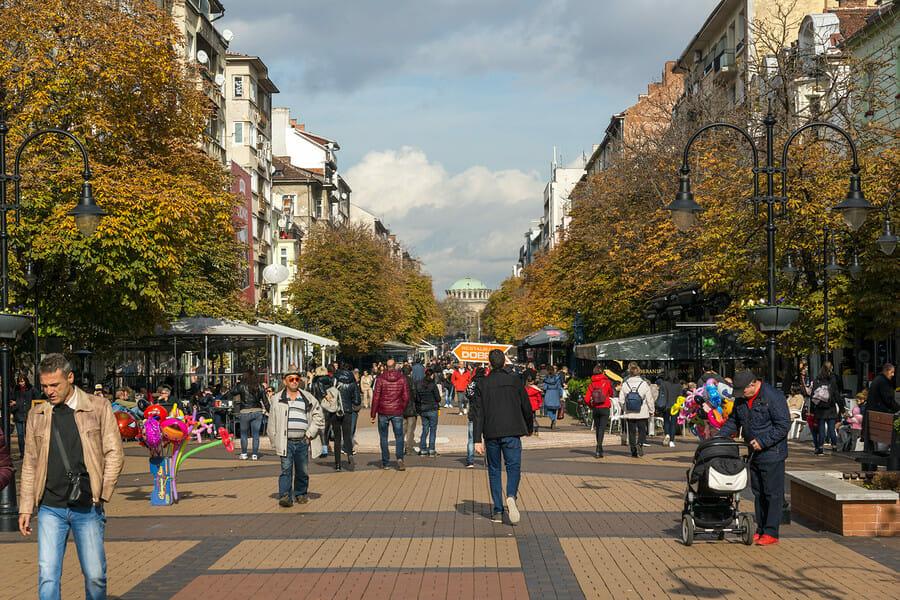 Sofia Einkaufen