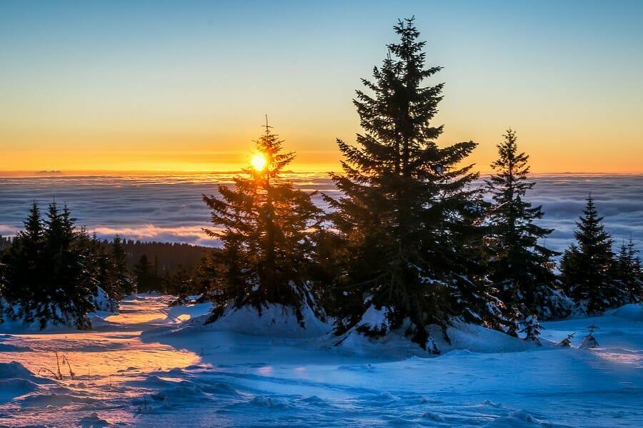 Verbringen in Kopaonik ihren Skiurlaub in Serbien