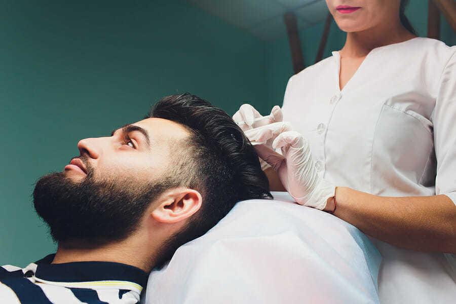Ablauf der Haarpigmentierung