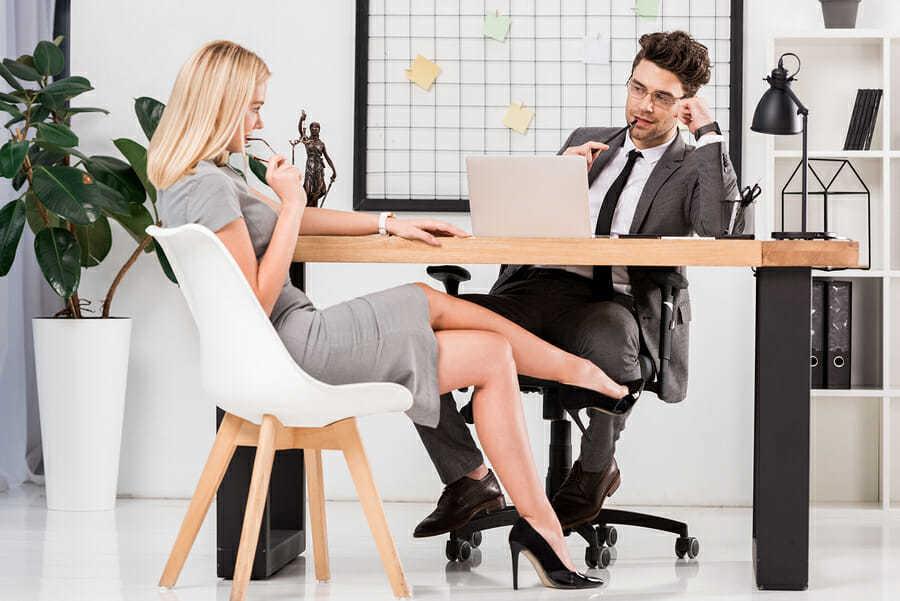 Beziehung mit dem Chef