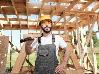Mit handwerklichem Geschick Geld beim Bau sparen
