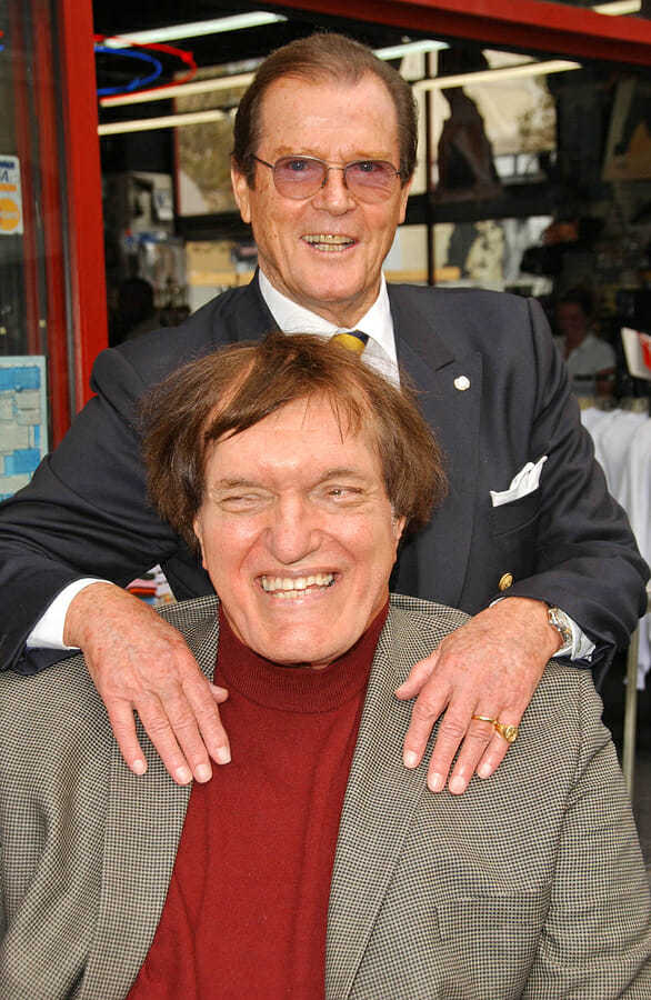 Roger Moore and Richard Kiel