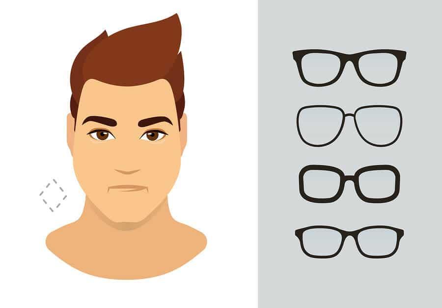 Brillen für ovale Gesichter