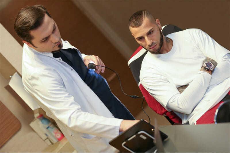 Dr.Balwi und Ricardo Quaresma
