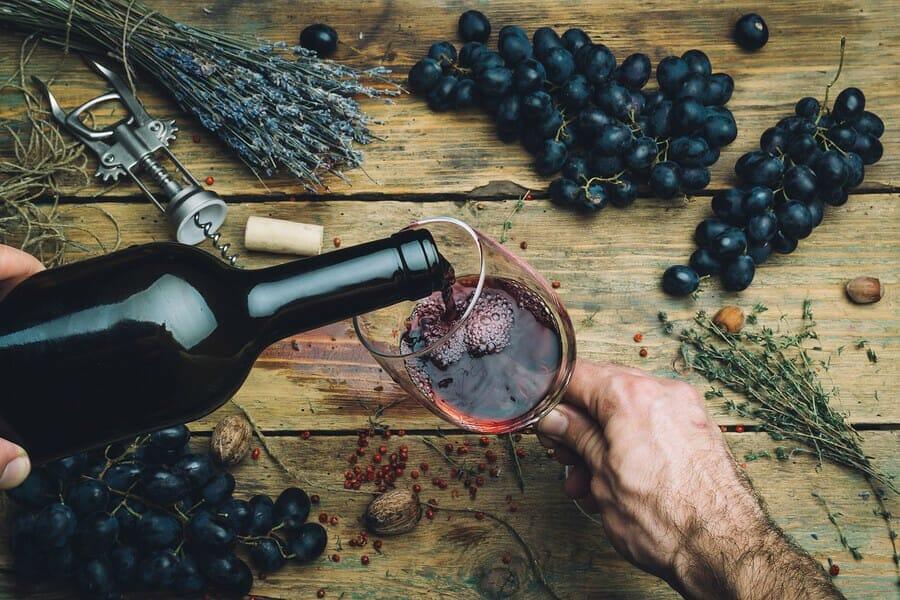 Vrsac Wein