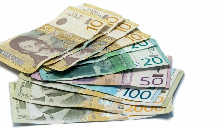 Serbische Dinar