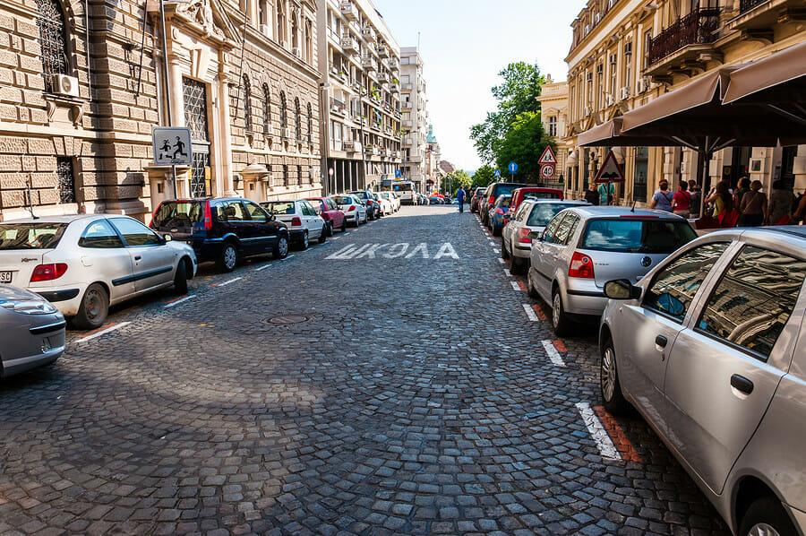 Parkschein in Serbien per SMS